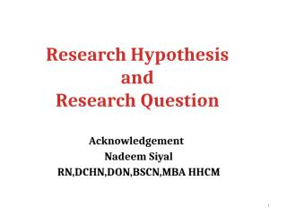 Hypothesis and research question.pptx