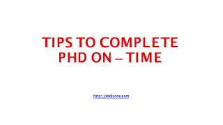 PPT_013 TIPS TO COMPLETE PHD ON - TIME.pdf