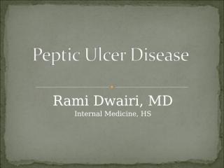 Peptic Ulcer Disease.ppt