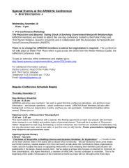 Description of Program Events for Website -- 7.20.11.doc