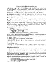 regras campeonato de worldwar 2010.doc