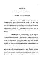 O Realismo Politico de Machado de Assis - Joao Batista de a Prado Ferraz Costa.pdf