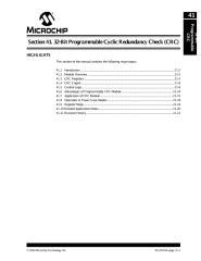 PIC24F Family Ref. Manual - Section 41. 32-Bit Programmable Cyclic Redundancy Check (CRC).pdf