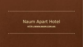 Naum Apart Hotel.pptx