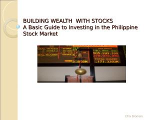 BSU Stock Market Made Simple.ppt