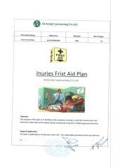 INURIES FRIST AID PLAN.pdf