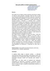 educação pública na idade contemporânea.doc