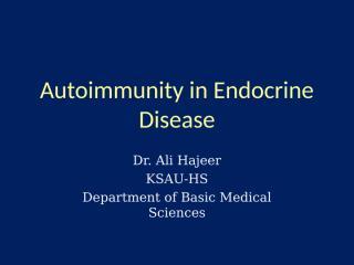 02 endocrine autoimmunity 2011.ppt