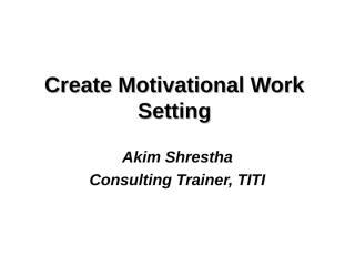 motivation at work.ppt