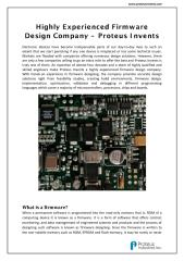 Complete Service of Firmware Designing - Proteus Invents.pdf