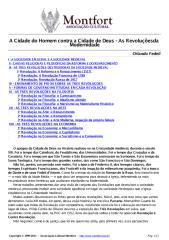 A Cidade do Homem Contra a Cidade de Deus as Revoluções da Modernidade - Orlando Fedeli.pdf