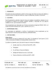 PROCEDIMIENTO DE SEGURIDAD PARA TRABAJOS DE SOLDADURA Y CORTE.PDF