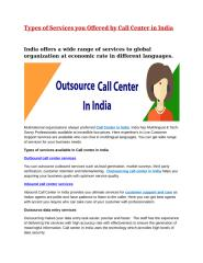 Call Center in India.docx