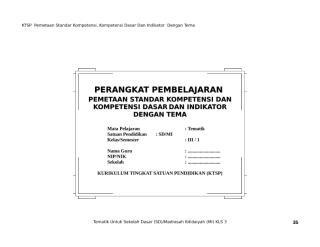 [2] PEMETAAN SK & KD TEMATIK 3.doc